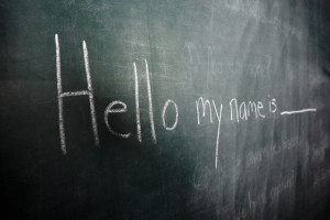 Hello my name is Blank