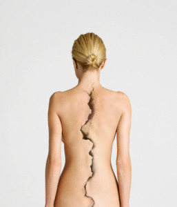 Woman's Back --- Image by © moodboard/Corbis